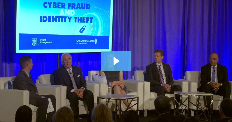 Frank Abagnale and panel of experts share Cyberfraud and Identity Theft Trends and Tips.