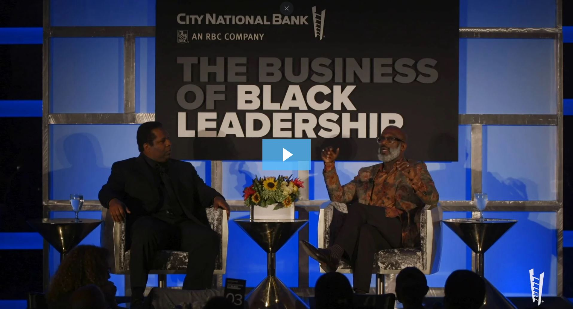 BeBe Winans at City National's Business of Black Leadership event.