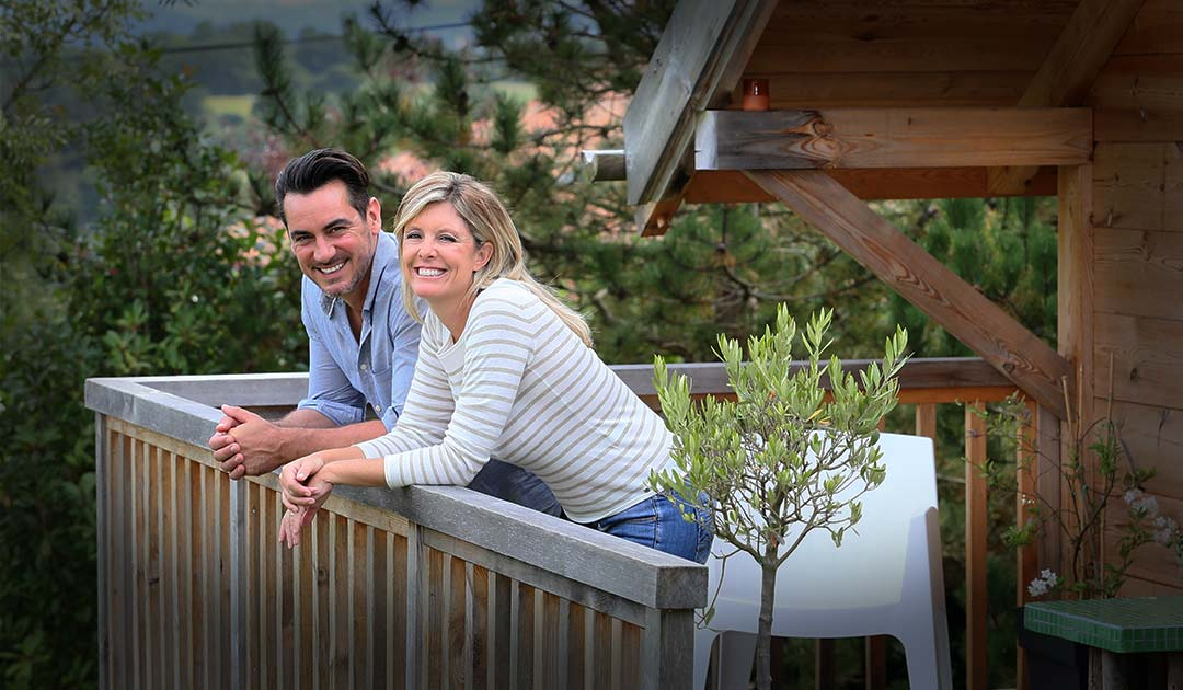 Couple plans how they can increase the profitability of their vacation property.